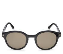 Sonnenbrille 'Lucho' schwarz/oliv