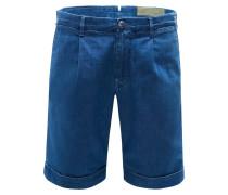 Jeans-Bermudas 'Tropez Comfort Slim Fit' blau