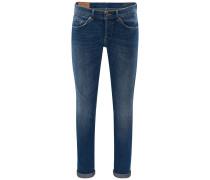 Jeans 'George Skinny Fit' rauchblau