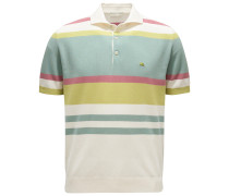 Poloshirt creme/hellgrün