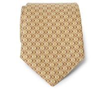 Krawatte ocker/braun
