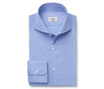 Business Hemd Haifisch-Kragen blau