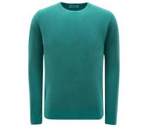 R-Neck Pullover grün