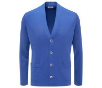 Cardigan blau