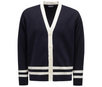 Cardigan 'Aanfitrione' navy/offwhite