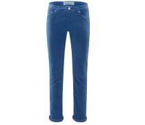 Cordhose 'PW688 Comfort Vintage Slim Fit' graublau