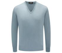 Baby-Cashmere V-Neck Pullover mint