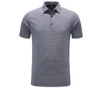 Jersey-Poloshirt navy