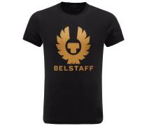 R-Neck T-Shirt 'Cranstone' schwarz