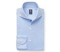 Jersey-Hemd 'Sergio Toronto' Haifisch-Kragen hellblau