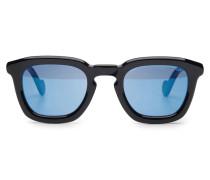 Sonnenbrille schwarz/blau