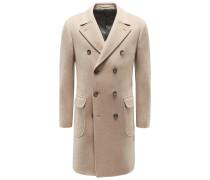 Cashmere Mantel beige