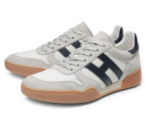 Sneaker 'H357' hellgrau/weiß