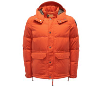 Daunenjacke 'Berkeley' orange