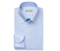 Business Hemd 'Gable' Button-Down-Kragen hellblau
