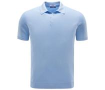 Jersey-Poloshirt 'Sportman' hellblau