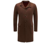 Jersey-Mantel 'Sweater Coat Light' braun