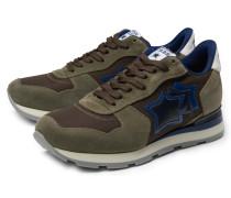 Sneaker 'Antares' oliv/braun