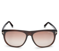 Sonnenbrille 'Olivier' dunkelbraun/braun