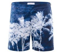 Badeshorts 'Bulldog Reflection' navy