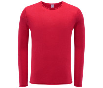 R-Neck Pullover rot