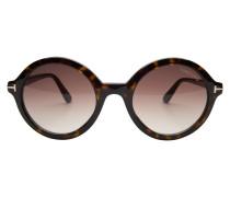 Sonnenbrille 'Nicolette' dunkelbraun