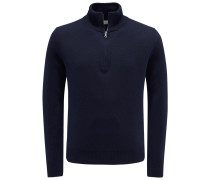 Cashmere Troyer navy