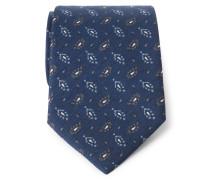 Krawatte dark navy