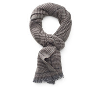 Schal graubraun