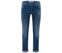 Jeans 'J688 Comfort Slim Fit' graublau