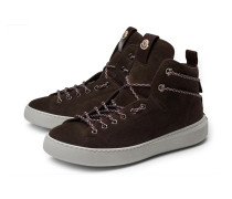 High Top Sneaker 'Yanis' dunkelbraun