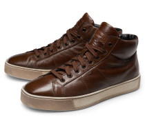 High Top Sneaker braun