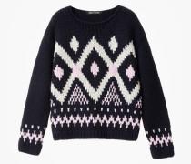 Handstrick Pullover Serafine