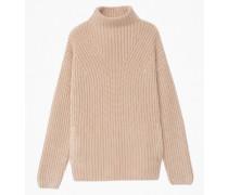 Cashmere Pullover Stehkragen
