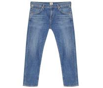 Jeans Elsa Mid Rise Slim Fit Crop Liaison