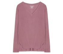 Shirt V-Ausschnitt Langarm Bruyere