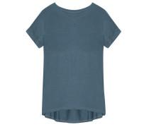 Shirt Rückenfalte Petrol
