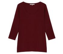 Baumwoll Shirt Clara 3/4 Arm Chili