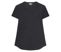 Baumwoll Shirt Rundhals Nacht