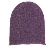 Kaschmir Beanie Purple Melange