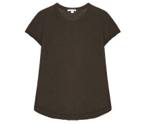 Baumwoll T-Shirt Smoky Green