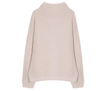 Pullover Patentstrick Rose
