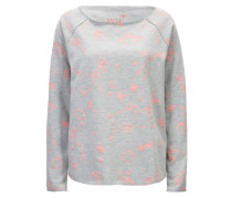 Sweater Galaxy Grey Neon Peach