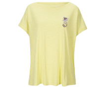 Boxy Shirt Pineapple Lemon