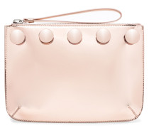 Rose gold shooting clutch MICOL