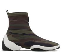Camouflage neoprene high-top sneaker LIGHT JUMP HT1
