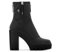 Black stretch boot KISHA