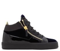 Velvet mid-top sneaker KRISS