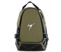 Green neoprene backpack MACK