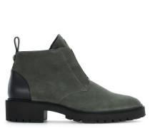 Grey suede boot BUDDIE